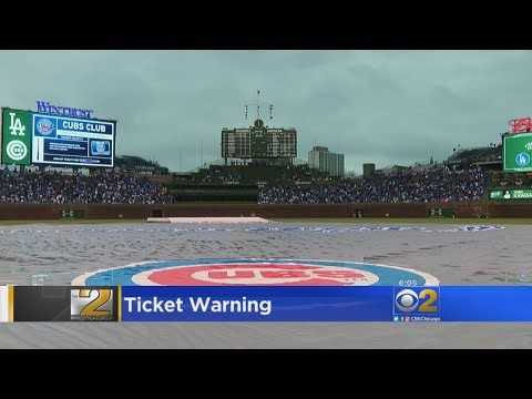 A Warning For Cubs Fans Buying Tickets Online