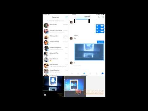 Facebook Messenger for iPad Hands-On