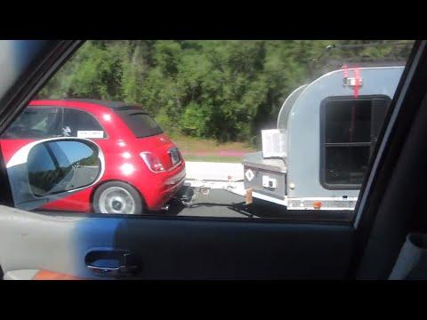 Fiat Teardrop Trump Setup! 😂 | Heading West Again in the Van | Vlog 248