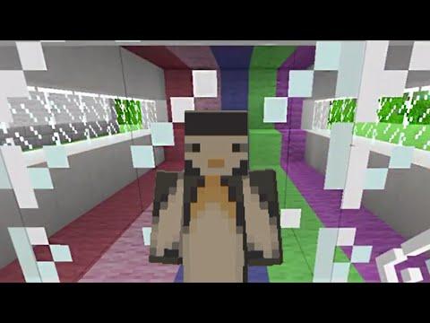 Minecraft Xbox: Rainbow Runner Minigame [64]