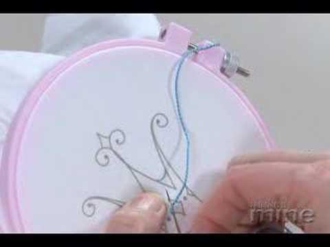 Make It Mine Magazine - Embroidery Back Stitch
