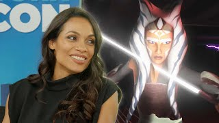 Star Wars: Rosario Dawson on Wanting to Play Ahsoka Tano