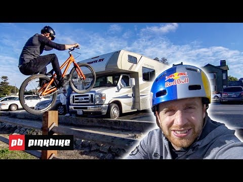 Danny Macaskill, Ali C and Duncan Shaw Session California Street Trials