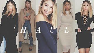 Fall/Winter Haul 2015: Lulus, FashionNova, Dynamite, H&M, Romwe   HAUSOFCOLOR