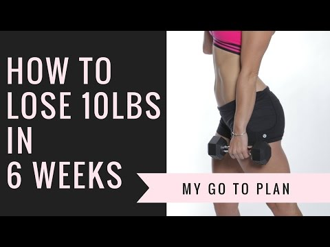 HEALTH | How I Lose 10 Pounds in 6 Weeks