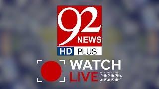 92 NEWS HD LIVE