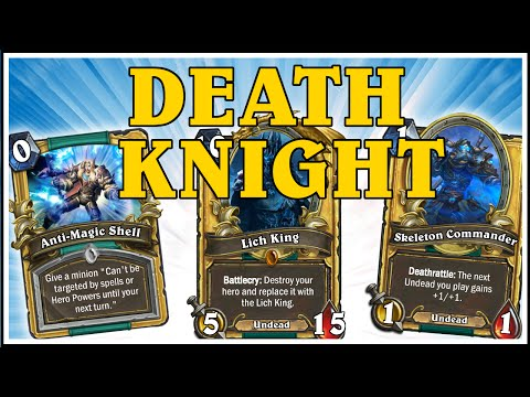 Hearthstone - Death Knight Golden Cards