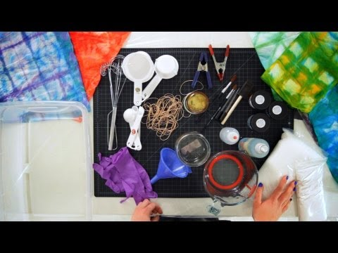 14 Tie Dyeing Supplies You Need | Tie Dyeing