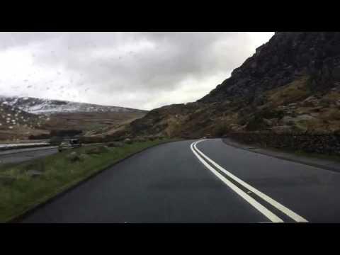 A quick drive through Snowdonia