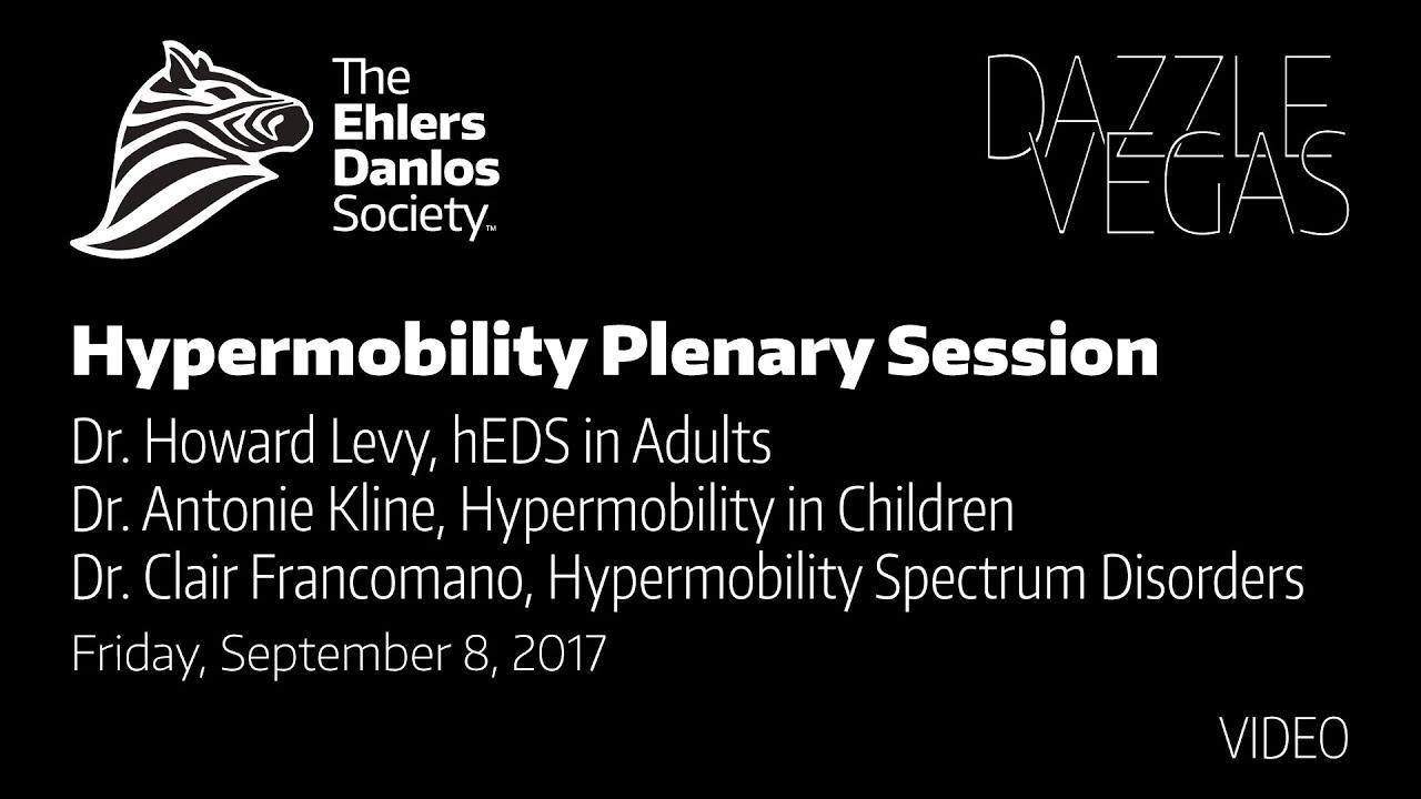 2017 Hypermobility Plenary Session
