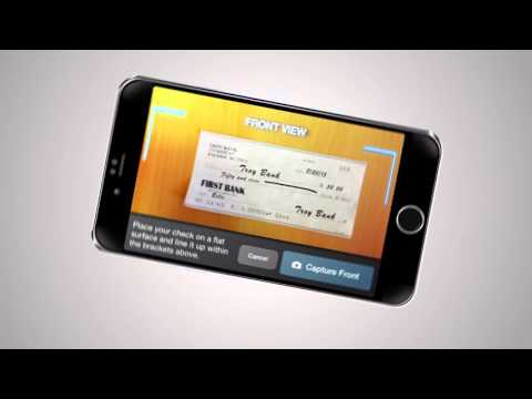 First Bank Mobile Check Deposit