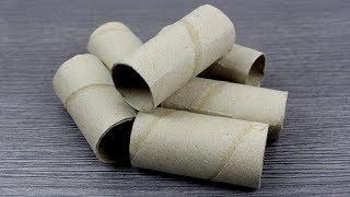 6 Creative ways to reuse toilet paper rolls - life hacks