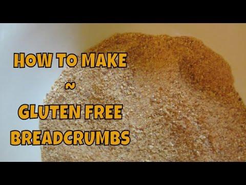 Homemade Gluten Free Breadcrumbs