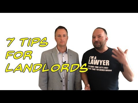 Our 7 tips for landlords