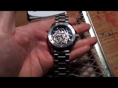 Fossil Men's Modern Machine Automatic Watch Coolest Watch Ever!!