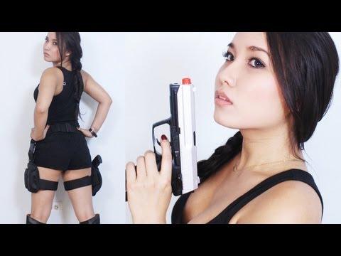 Lara Croft : Tomb Raider Movie (Makeup & Costume)