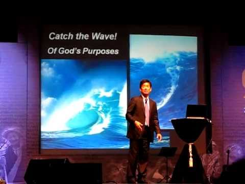 Surfing on God's Tsunami Wave!
