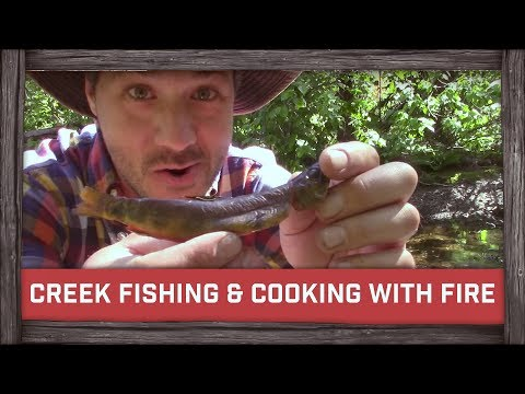 Creek Fishing & Easy Cooking With Fire w/Bushcraftbartons