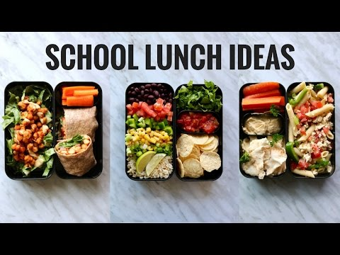 VEGAN SCHOOL LUNCH IDEAS (BENTO BOX)