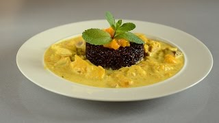 Fish In Spicy Coconut Mango Sauce Indian Style Recipe