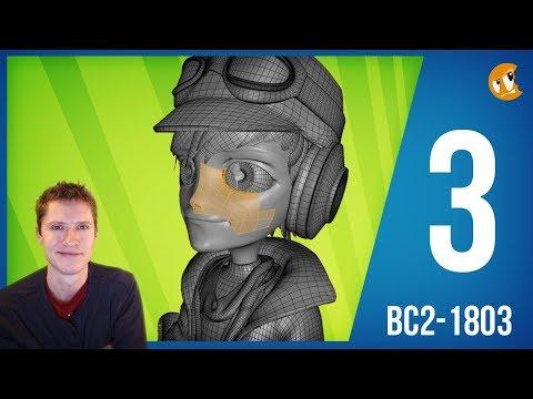 Creating Production Friendly Character Models - BC2-1803 - Week 3