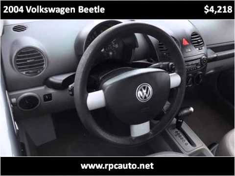 2004 Volkswagen Beetle Used Cars Pompana Beach FL