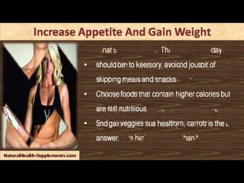 How To Increase Appetite And Gain Weight In A Healthy Way?