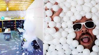 Crazy Ping Pong Ball PRANK!