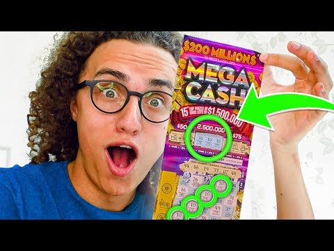 HOW I WON $418,405 FROM SCRATCH CARDS!