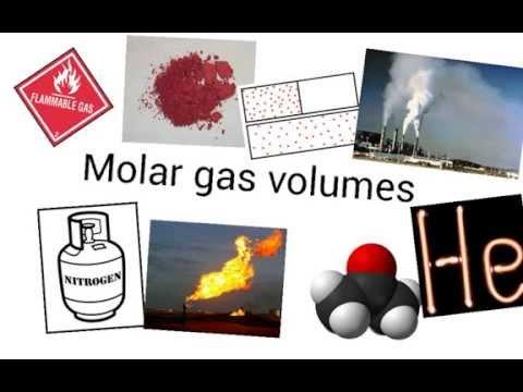Molar gas volume calculations - IGCSE Chemistry