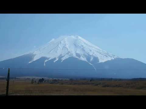 Mt.Fuji from highway bus Shibuya-Kawaguchiko