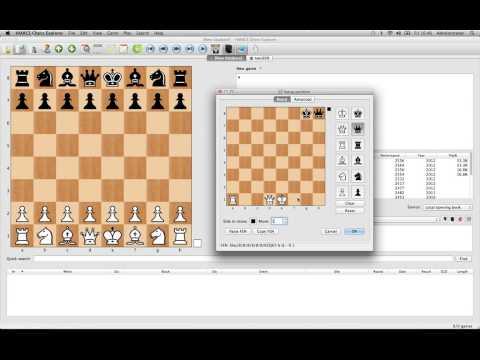 Mac Chess Explorer - Position setup