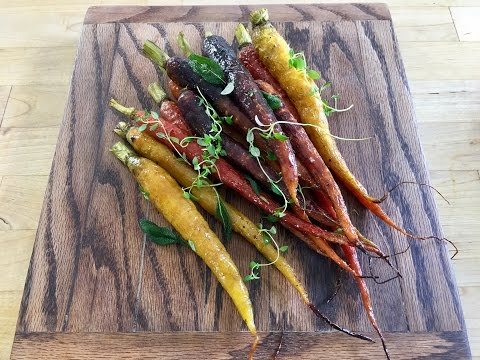 Honey Roasted Carrots with Thyme and Sage