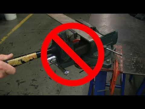 Bench Vise Safety