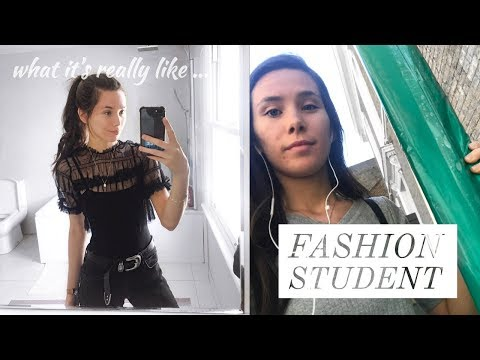 WHAT ITS LIKE BEING A FASHION STUDENT + UPDATE