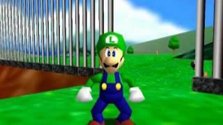 Luigi Trys To Kill Mario