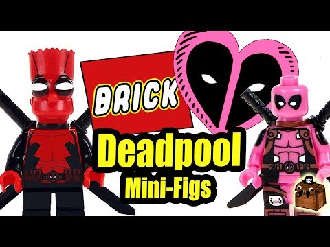 LEGO A Message from Deadpool Custom Minifigures