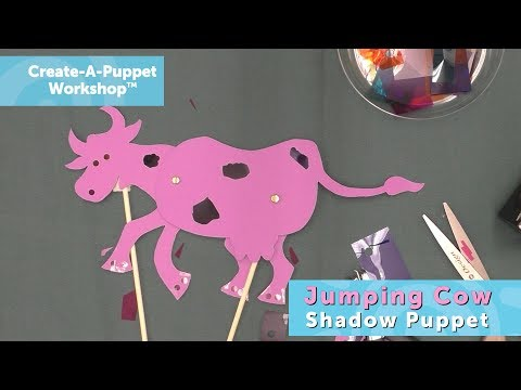 Create-A-Puppet Workshop: Jumping Cow Shadow Puppet