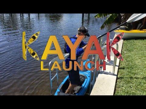 Kayak Launch & Hoist System for Docks & Seawalls!