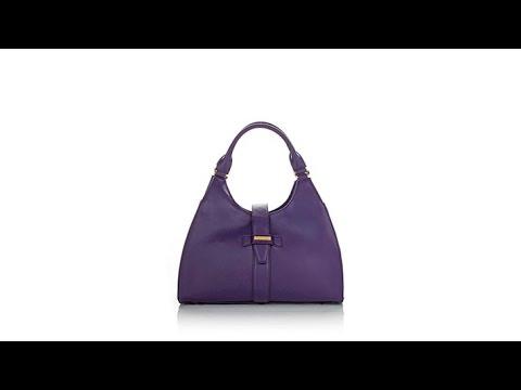 IMAN Platinum Luxe Leather City Chic Handbag