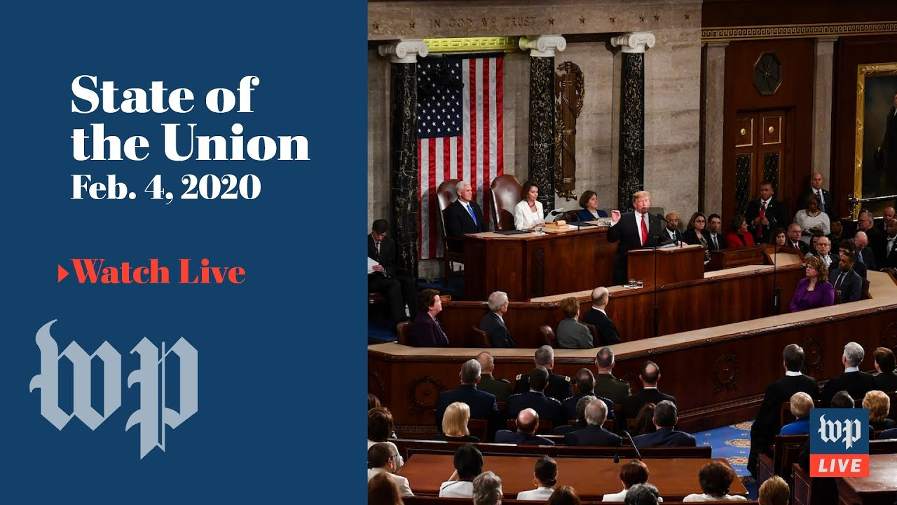 President Trump's 2020 State of the Union address and the Democratic response (FULL LIVE STREAM)