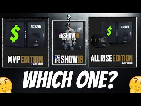 Which MLB The Show 18 Pre Order Should YOU Get? PS4 Release Date