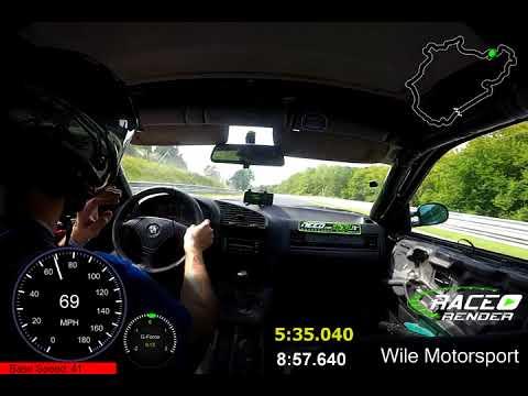 Jake Wile - Nurburgring Flying Lap - 8:57 - 328is  8/2017
