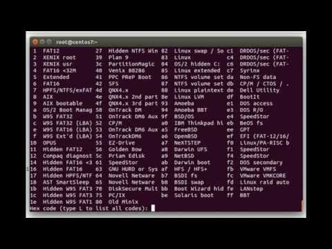 Creating, expanding, and shrinking a ext4 filesystem on LVM in RHEL/CentOS 7