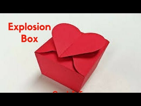 HOW TO MAKE EXPLOSION BOX || BIRTHDAY/ANNIVERSARY/VALENTINE'S DAY GIFT IDEAS