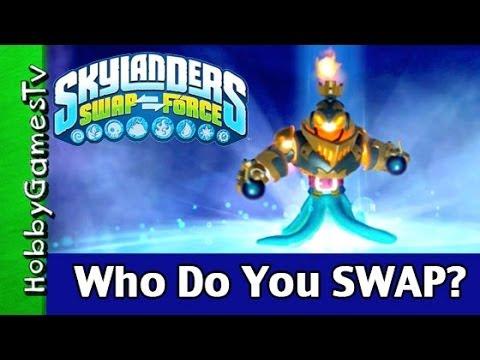Skylanders SWAP Forces Game XBOX 360 + HobbyDad Review by HobbyGamesTV