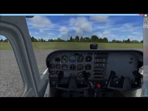 FSX: Let's Learn to Fly Together ★ Part 2: Cockpit Familiarization #1