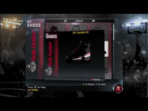 NBA 2K12 - How to Unlock All Air Jordans