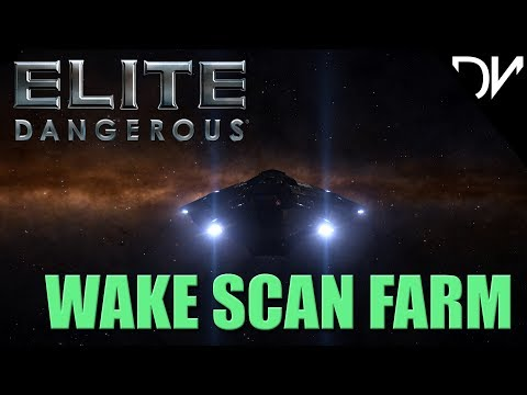Elite Dangerous | Wake Scan Farming | Famine Systems | Distribution Center | November 2017