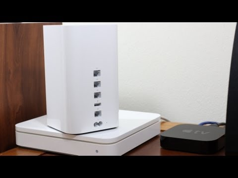 Apple AirPort Extreme (2013) - Installation Tutorial